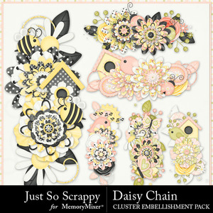 Daisy chain clusters medium