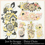 Daisy Chain JSS Clusters Pack-$1.00 (Just So Scrappy)