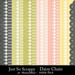 Daisy Chain JSS Extra Paper Pack-$1.99 (Just So Scrappy)