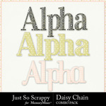 Daisy chain kit alphabets small