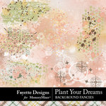 Plant Your Dreams Background Fancies-$3.99 (Fayette Designs)
