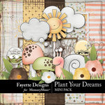 Plant Your Dreams Mini Kit-$3.99 (Fayette Designs)