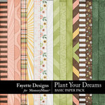 Plant Your Dreams Basic Paper Pack-$3.99 (Fayette Designs)