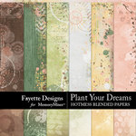 Plant Your Dreams Hotmess Blended Papers-$3.99 (Fayette Designs)