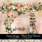 Plant Your Dreams Cluster Pack-$3.99 (Fayette Designs)