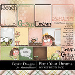 Plant Your Dreams Pocket Pieces Pack-$3.99 (Fayette Designs)