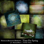 Time for Spring Paper Pack-$4.49 (MagicalReality Designs)