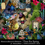Time for Spring Embellishment Pack-$3.99 (MagicalReality Designs)