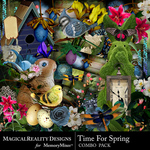 Time for Spring Combo Pack-$3.50 (MagicalReality Designs)