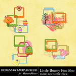 Little Bunny Foo Foo LB Cluster Pack-$4.99 (Laura Burger)
