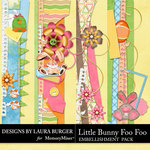 Little Bunny Foo Foo LB Borders Pack-$4.99 (Laura Burger)