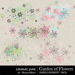 Garden of Flowers Scatterz Pack-$1.99 (Lindsay Jane)