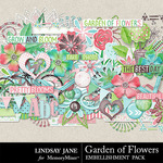 Garden of Flowers Embellishment Pack-$3.49 (Lindsay Jane)