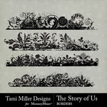 The Story of Us TM Border Pack-$2.99 (Tami Miller)