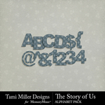 The Story of Us TM Alphabet Pack-$2.99 (Tami Miller)