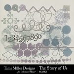 The Story of Us TM Graffiti Pack-$2.99 (Tami Miller)