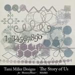 The Story of Us TM Graffiti Pack-$2.99 (Tami Miller)