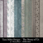 The Story of Us TM Paper Pack-$2.99 (Tami Miller)