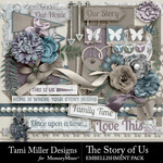 The Story of Us TM Embellishment Pack-$3.99 (Tami Miller)
