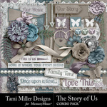 The Story of Us TM Combo Pack-$5.99 (Tami Miller)