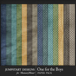 One for the Boys JSD Solid Paper Pack-$3.99 (Jumpstart Designs)