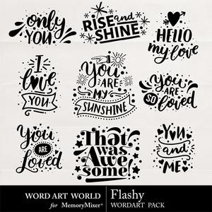 Flashy medium