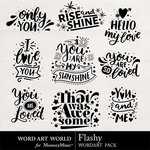 Flashy WordArt Pack-$2.49 (Word Art World)