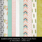 Paper Crush Vol 1 Paper Pack-$2.99 (Karen Lewis)
