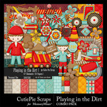 Playing in the Dirt Combo Pack-$4.99 (CutiePie Scraps)
