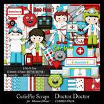 Doctor Doctor CPS Combo Pack-$4.99 (CutiePie Scraps)