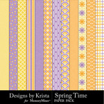 Spring Time DBK Paper Pack-$3.49 (Designs by Krista)