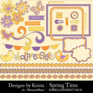 Spring time elements medium