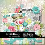 No 2 Alike Combo Pack-$8.99 (Fayette Designs)