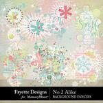 No 2 Alike Background Fancies Pack-$3.99 (Fayette Designs)