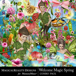 Welcome Magic Spring Combo Pack-$6.49 (MagicalReality Designs)