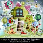My Little Apple Tree Combo Pack-$4.29 (MagicalReality Designs)