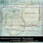 Newsflash Stitches Pack-$3.99 (Laura Burger)