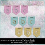 Newsflash Alphabet Pack-$3.99 (Laura Burger)
