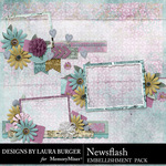 Newsflash Frame Cluster Pack-$4.99 (Laura Burger)