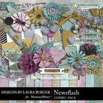 Newsflash Combo Pack-$6.99 (Laura Burger)
