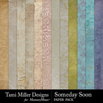 Someday Soon Paper Pack-$2.99 (Tami Miller)