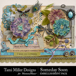 Someday soon embellishment pack small