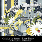 Lazy Daisy Combo Pack-$2.50 (Ooh La La Scraps)