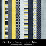 Lazy daisy kit papers small