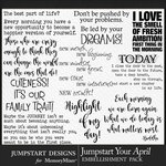 Jumpstart Your April 2017 WordArt Pack-$3.99 (Jumpstart Designs)