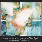 Jumpstart Your April 2017 Artful Paper Pack-$2.80 (Jumpstart Designs)