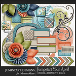 Jumpstart Your April 2017 Add On Pack-$2.80 (Jumpstart Designs)