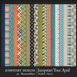 Jumpstart Your April 2017 Paper Pack-$3.99 (Jumpstart Designs)