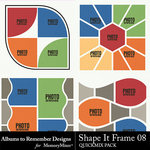 Shape It Frame 08 QuickMix-$2.99 (Albums to Remember)