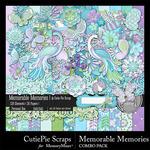 Memorable Memories Combo Pack-$4.99 (CutiePie Scraps)
